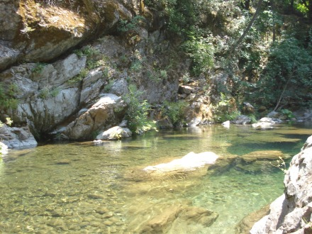 You might recognize this popular swimming hole on Butte Creek.