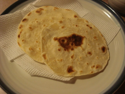 Make your own tortillas once and you'll never go back to the store bought ones.