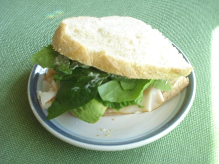 For me, the real test is, can you slice it thin enough to make a good turkey sandwich? Yes. With lettuce from my little hothouse garden.