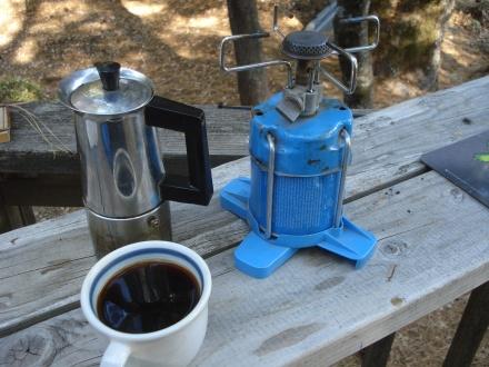 It is true - coffee tastes better outside.