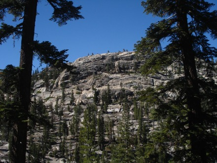 It's not hard to believe at one time Devil's Postpile was part of Yosemite National Park.