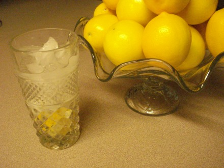 My friend who works at Cal Water asks for a couple of bags a year - he and his family keep a little plate of cut-up lemon next to their water dispenser - a couple of slices in a glass of water get rid of that chlorine taste!