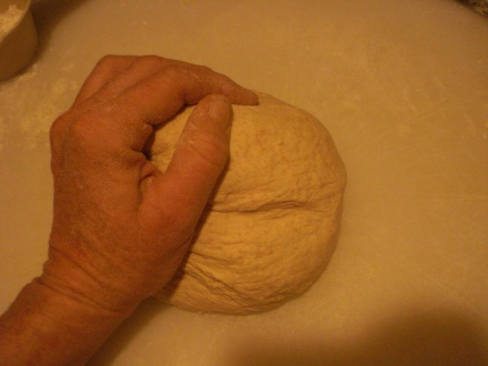I think kneading is good upper body work.