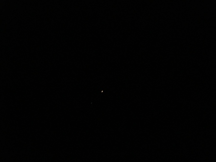 At 6am you can see Venus, Jupiter and Mars lined up right across the Eastern sky.