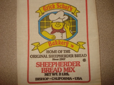 You can pick up a variety of baked goods at Erick Schat's bakery, or you can pick up a bag of bread mix and make your own.